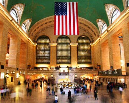 Grand Central Terminal de New York, cenário de incontáveis filmes americanos