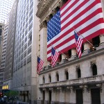 Wall Street, coração do centro financeiro de Nova York e do mundo.