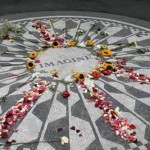 Central Park Strawberry Fields, uma homenagem a John Lennon.
