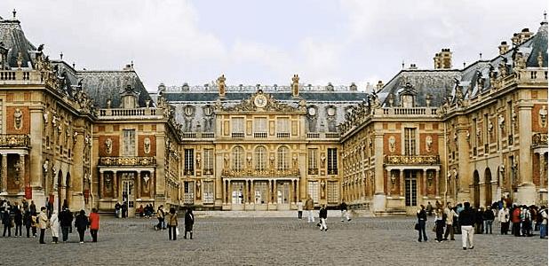 Chateau Versailles em Paris