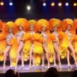 A famosa dança Cancã no Moulin Rouge