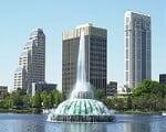Cidade de Orlando na Flórida