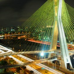 Ponto estaiada em São Paulo