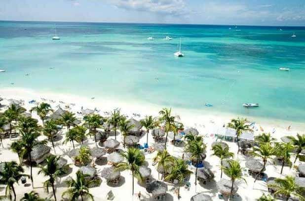 Palm Beach, em Aruba