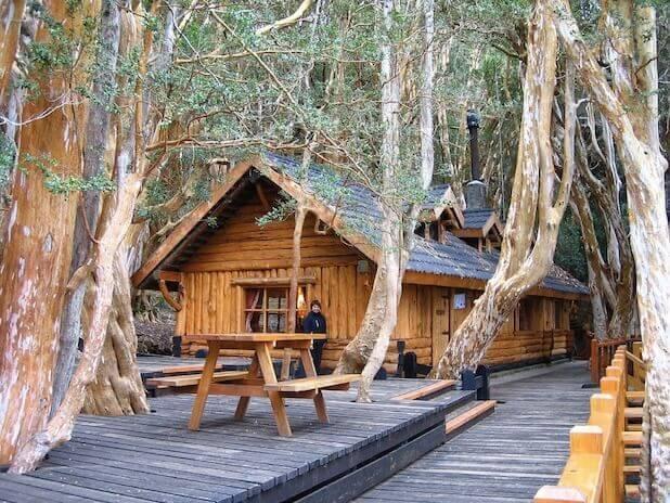 Bosque Arrayanes e a Casita de Te Del Bosque