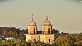 Igreja em Colônia do Sacramento, cidade turística do Uruguai