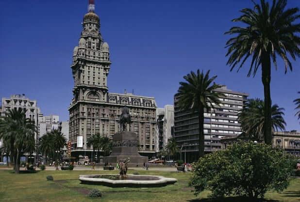 Montevidéu, capital uruguaia