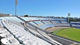 Estadio Centenario em Montevideu, capital e cidade turística no Uruguai