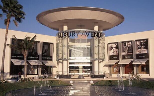 Luxury Avenue, um dos melhores pontos para quem quer fazer compras.