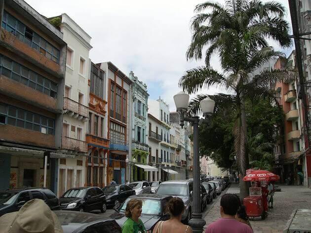 Arquitetura holandesa no centro de Recife