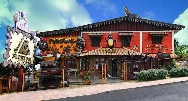 Loja de chocolate em Canela
