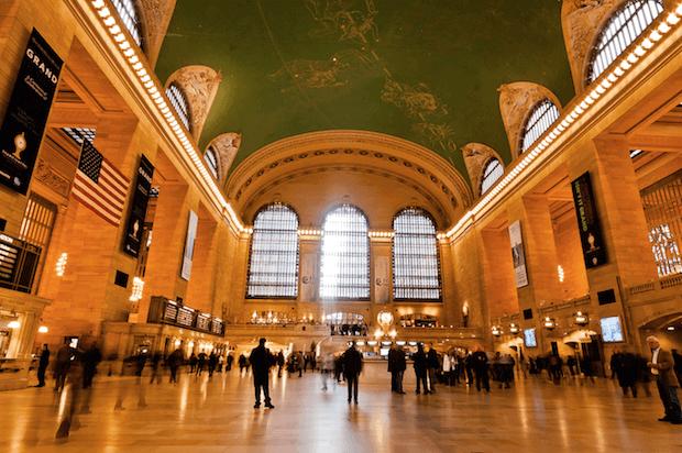 Salão Principal do Grand Central Terminal.