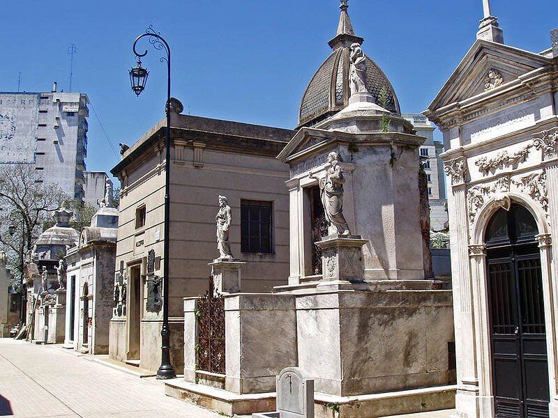 Cemitério Recoleta Buenos Aires