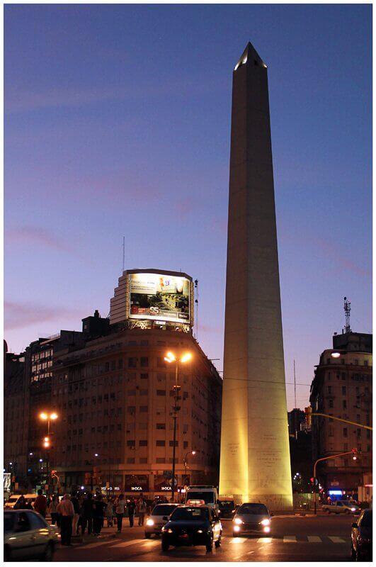 Obelisco em Buenos Aires