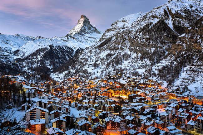 Lua de Mel em Zermatt