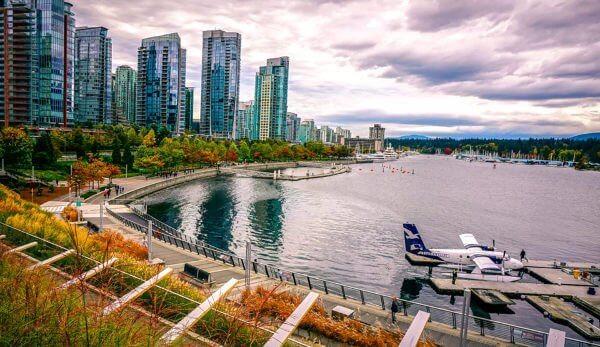 Viajar sozinho para Vancouver