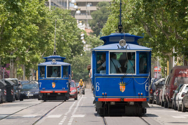 Trambia Blau - Barcelona