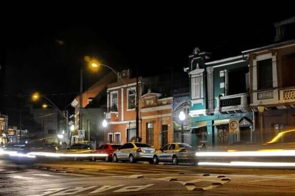Noite em Porto Alegre