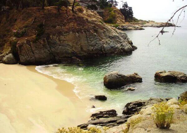 Praia de los Enamorados - Chile