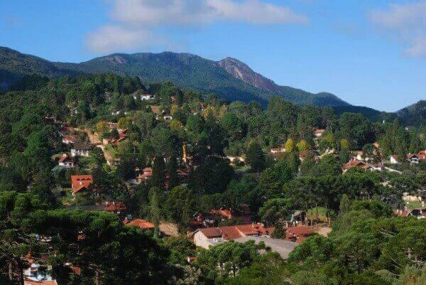 Paisagem de Monte Verde
