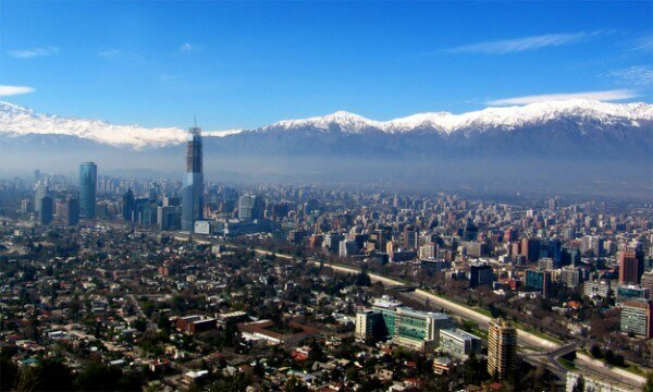 Vista de Santiago do Chile