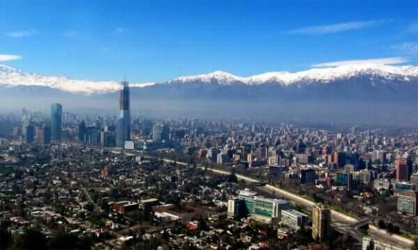 Vista de Santiago do Chile