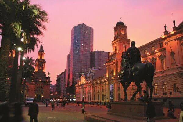Plaza De Armas - Santiago do Chile