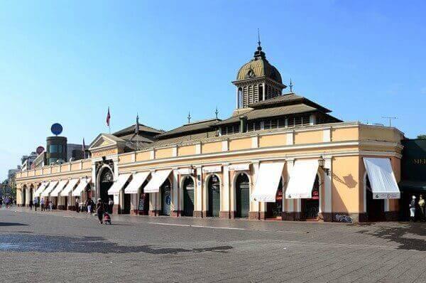 Arquitetura do Mercado Municipal - Santiago do Chile