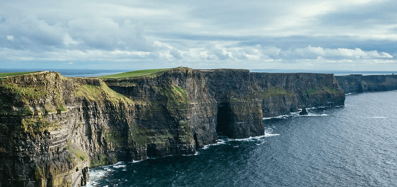 Cliffs of Moher, no interior da Irlanda